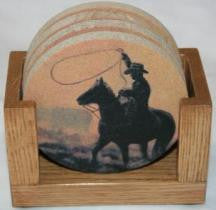 Ropin' Coaster Set