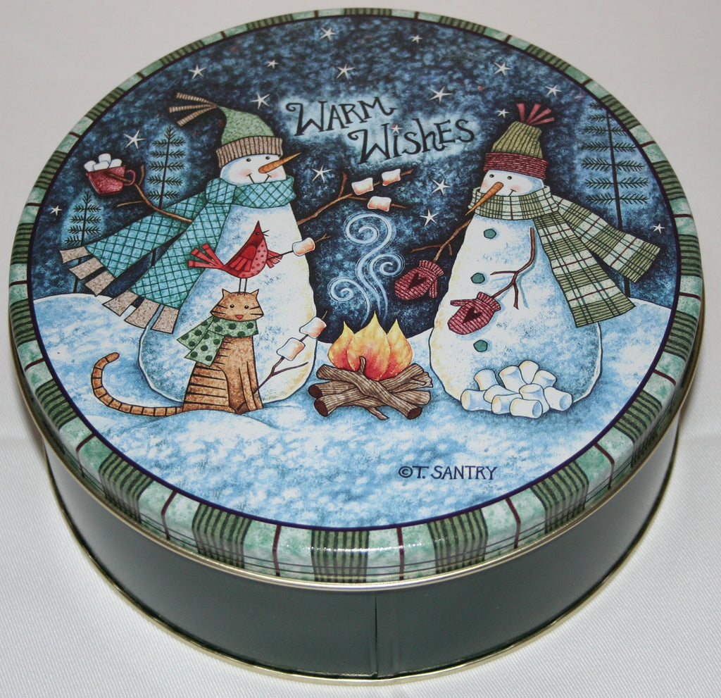 Cashews - Roasted & Salted - Gift Tin - 33 oz - Warm Wishes  -  Free-Shipping