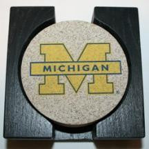 University of Michigan Coaster Set