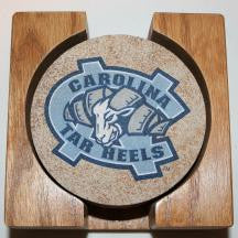 University of North Carolina Coaster Set