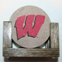 University of Wisconsin Coaster Set
