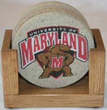 University of Maryland Coaster Set