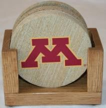 University of Minnesota Coaster Set