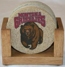 University of Montana Coaster Set