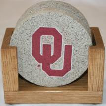 University of Oklahoma Coaster Set