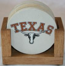 University of Texas Coaster Set