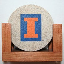 University of Illinois Coaster Set