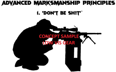 "LVG - Logo T-Shirt ""Advanced Marksmanship Principles"""