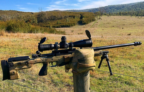 Game Changer competition shooting precision rifle series long range hunting wiebad armageddon gear atacs sniper equipment