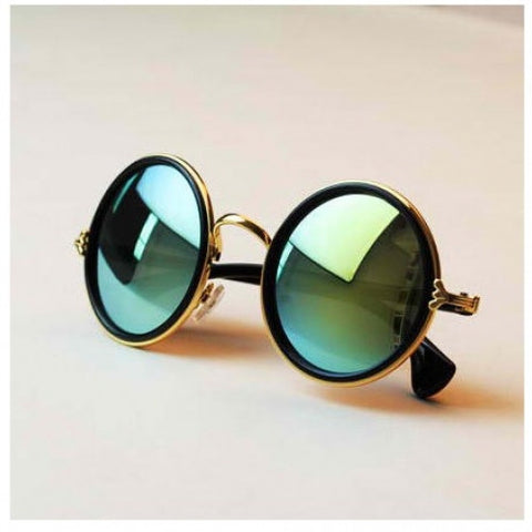 Retro Roundness Colours Sunglasses