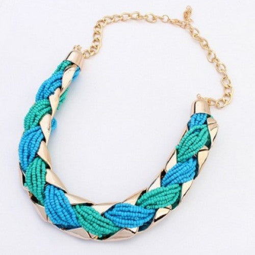 Bohemian Korean Weave Fashion Necklaces