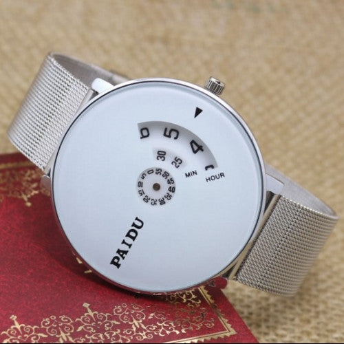Fashion Casual Full Steel Watch