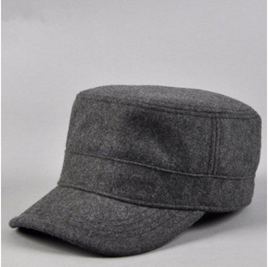 Wool Fashion Military Hat Cadet Cap