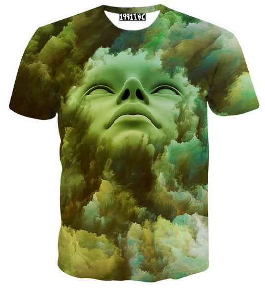 Fashion Cotton T Shirt 3d Clothes