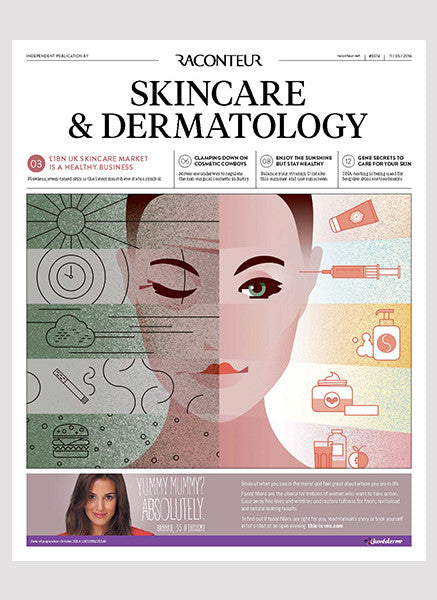 Raconteur - skincare report on the future of the industry