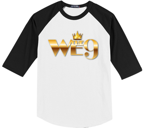 We The 9 Text Two Color Tee