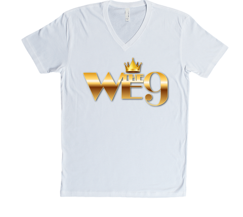 We The 9 Text V-Neck Tee
