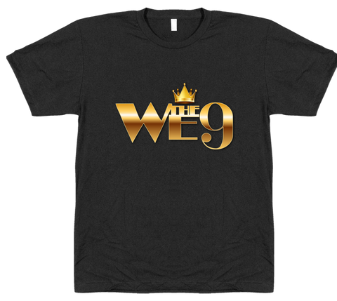We The 9 Men's Text Any Color Tee
