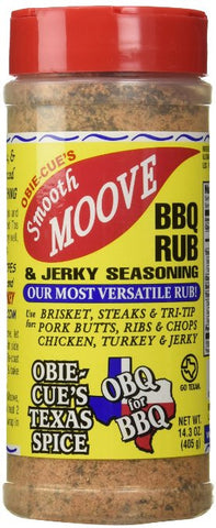 Obie-Cue's Smooth Moove BBQ Rub and Jerky Mix (14.3 oz)
