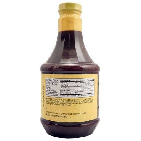 Sonny's Real Pit BBQ Authentic Sweet Sauce - 41oz (1 Bottle)
