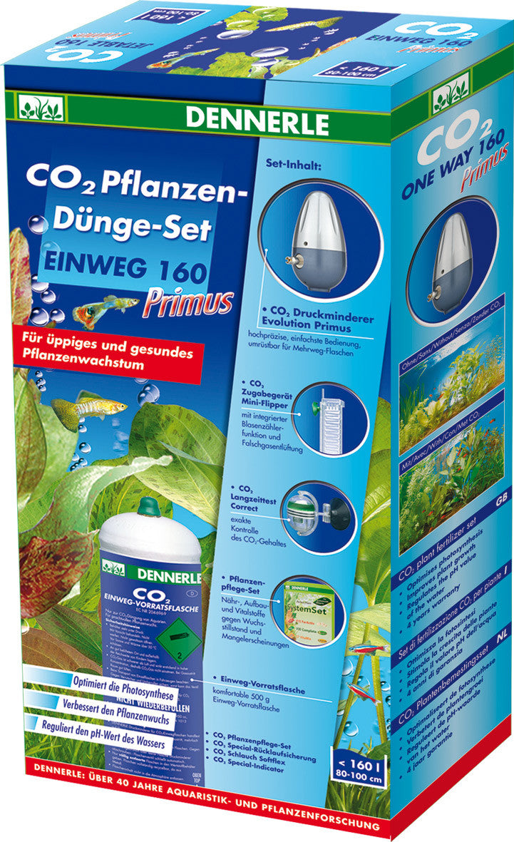 CO2 komplet 160 PRIMUS - fishbox