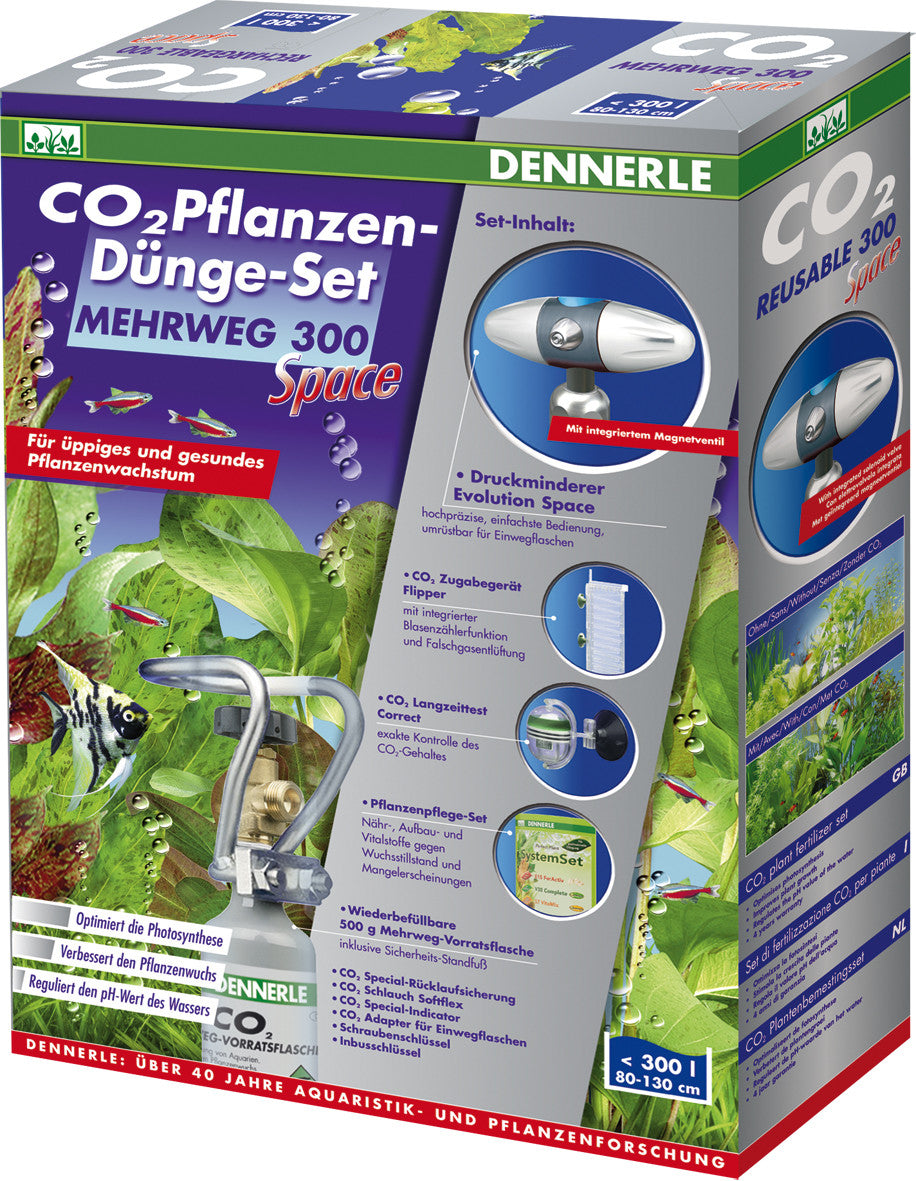 CO2 komplet 300 SPACE - fishbox