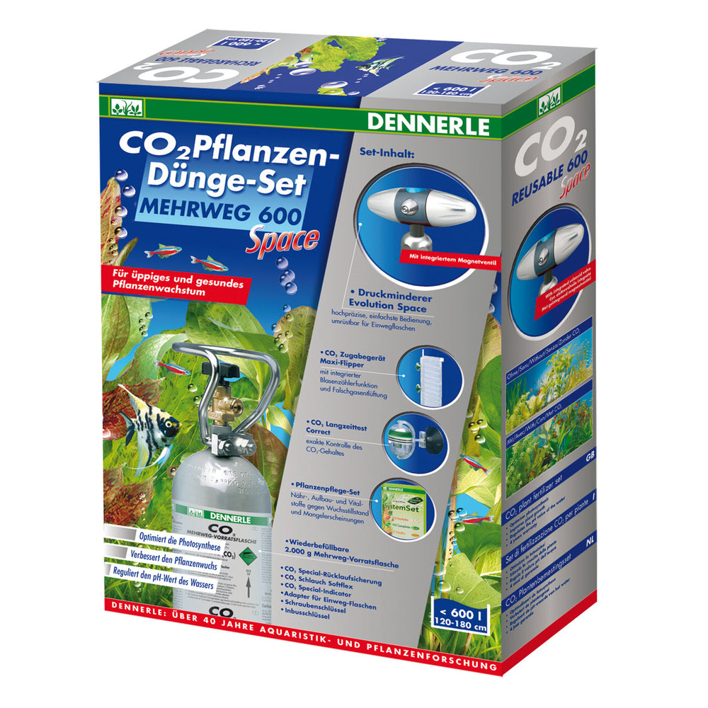 CO2 komplet 600 SPACE - fishbox