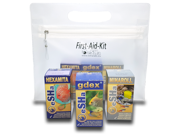 eSHa First-Aid-Kit Komplet za prvo pomoč za diskuse - fishbox