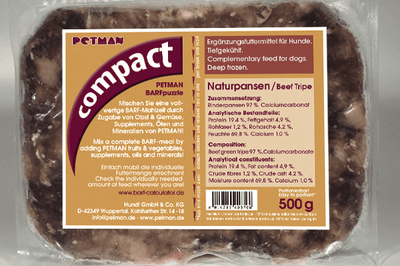 Petman Compact NATUR VAMPI 2x250g - fishbox