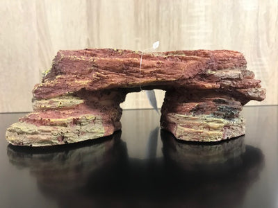 STONE RED PLATE - fishbox
