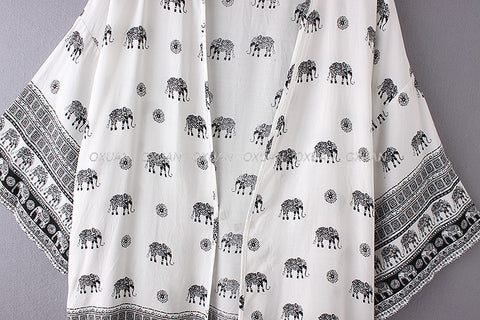 Image of Simple Elephant Cardigan