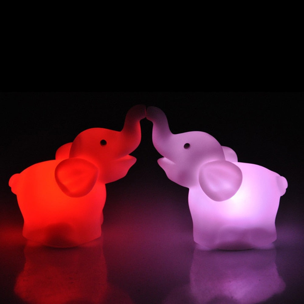 LED Night Light Elephant