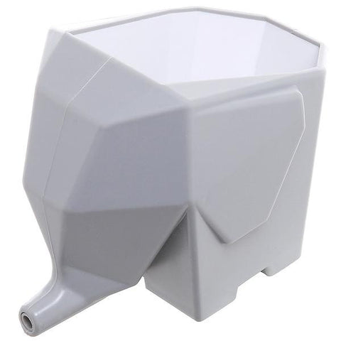 Image of Gray Elephant Cutlery Drainer Box - contemporary home