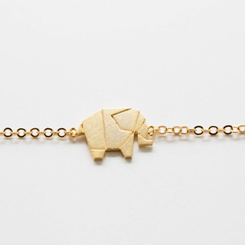 Origami Elephant Friendship Bracelet