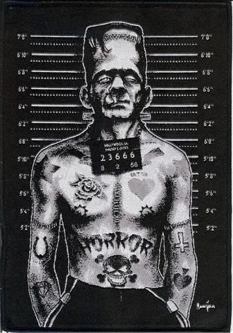 Frankenstein patch punk-rock-goth-metal