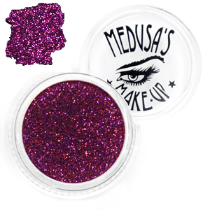 Medusa's Make up  Eye Glitter -Love Missile red
