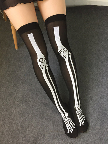 Skelly Tights
