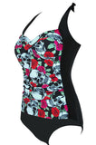 Skulls'n'Roses Swimsuit - One Piece