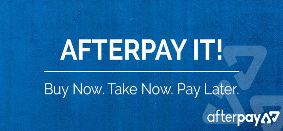 Afterpay available