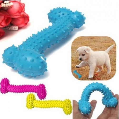 Resistant To Bite Bone Rubber Dog Toy