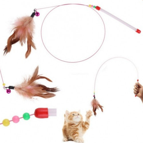 Play Fun Feather Kitty Pet Toy