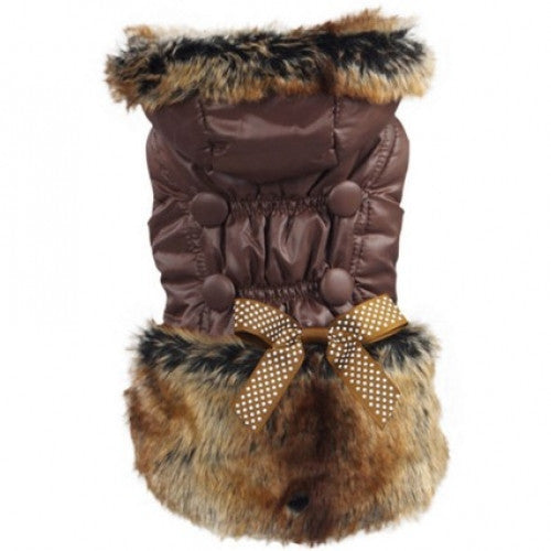 Warm Coat Hoodie Jacket Pet Clothes