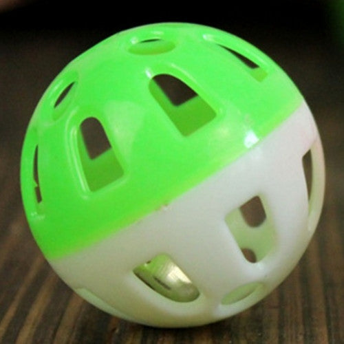 Plastic Tinkle Bell Ball Pet Toy