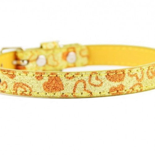 Pearlite Layer Leather Adjustable Pet Collar