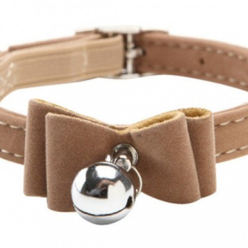 Safety Elastic Bowtie Bell Pet Collar