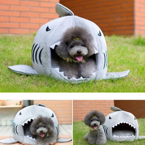 Shark Warm Indoor Kitten Pet House