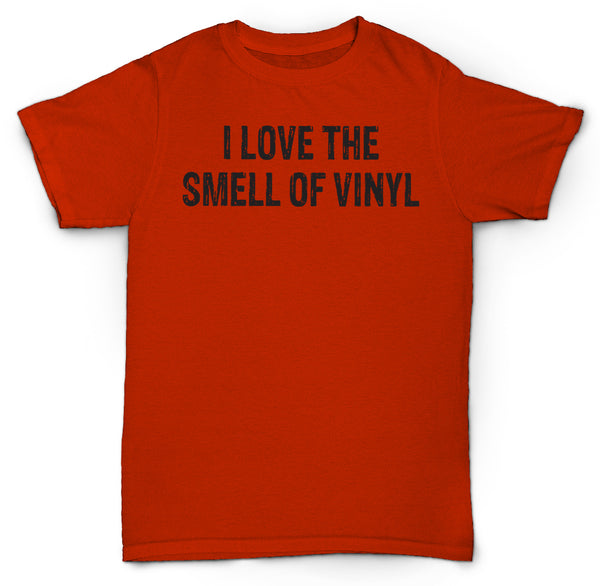 LOVE THE SMELL OF VINYL T SHIRT RECORDS RARE MINT SOUL JAZZ