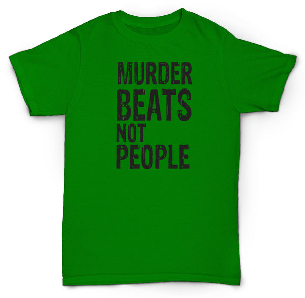 MURDER BEATS NOT PEOPLE T SHIRT MPC 303 LO FI BEATS MADLIB