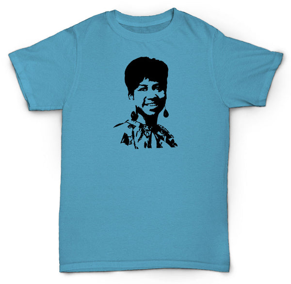 Aretha Franklin t shirt soul funk jazz breaks beats motown northern soul