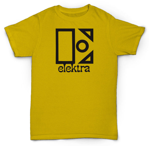 ELEKTRA RECORDS T SHIRT JAZZ FUNK SOUL HIP HOP BREAKS VINYL
